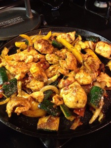 Cooking-chicken