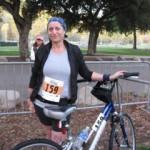 March 2009 my first triathlon 140 pounds