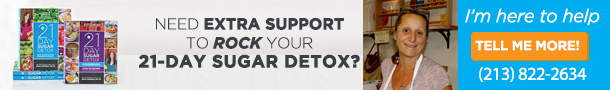 Sign Up Now For Our 21-Day Sugar Detox!